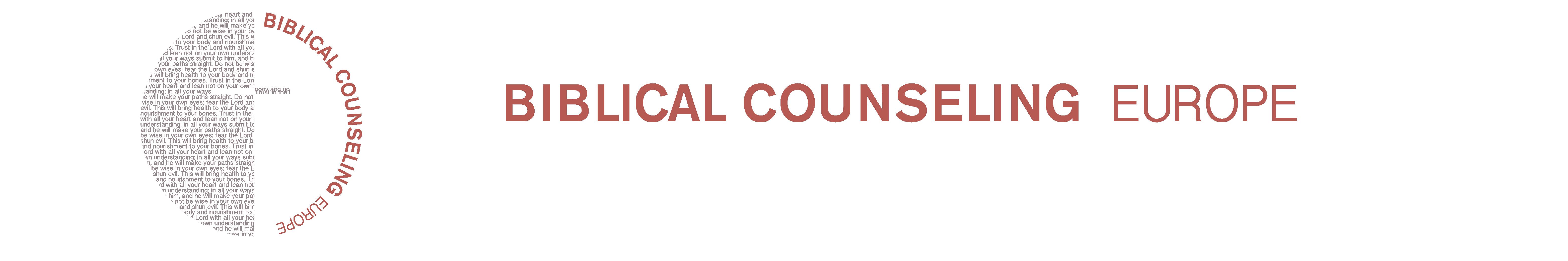 Biblical Counseling Europe